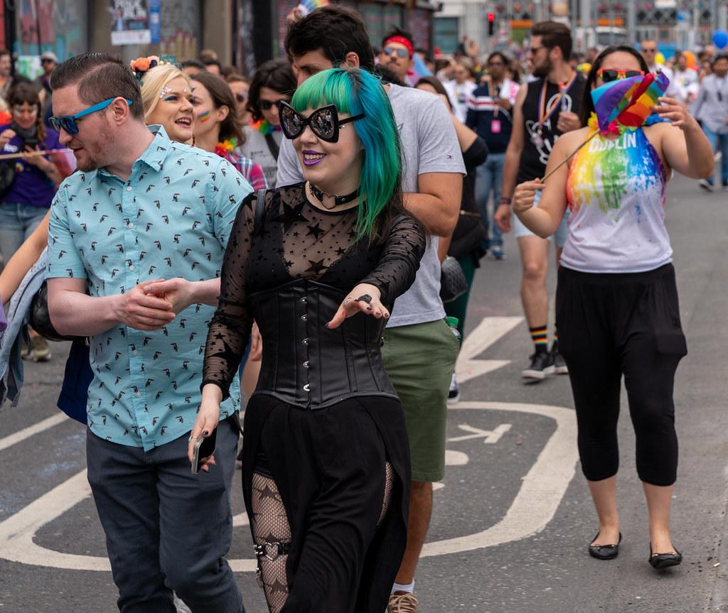 DUBLIN LGBTQ PRIDE PARADE 2019 [NEAR MOSS STREET - TALBOT BRIDGE]-153859