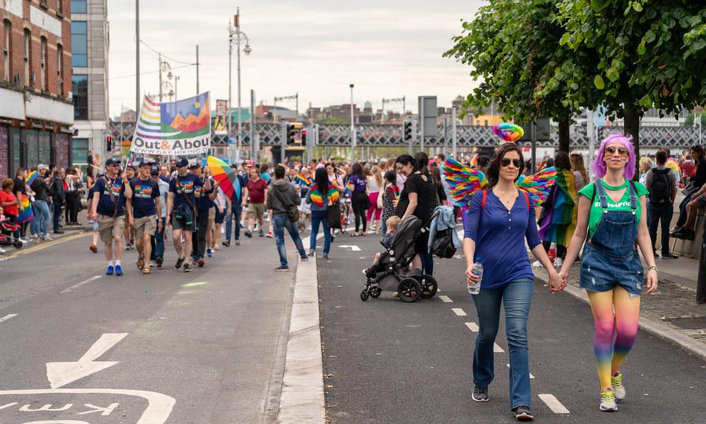 DUBLIN LGBTQ PRIDE PARADE 2019 [NEAR MOSS STREET - TALBOT BRIDGE]-153848