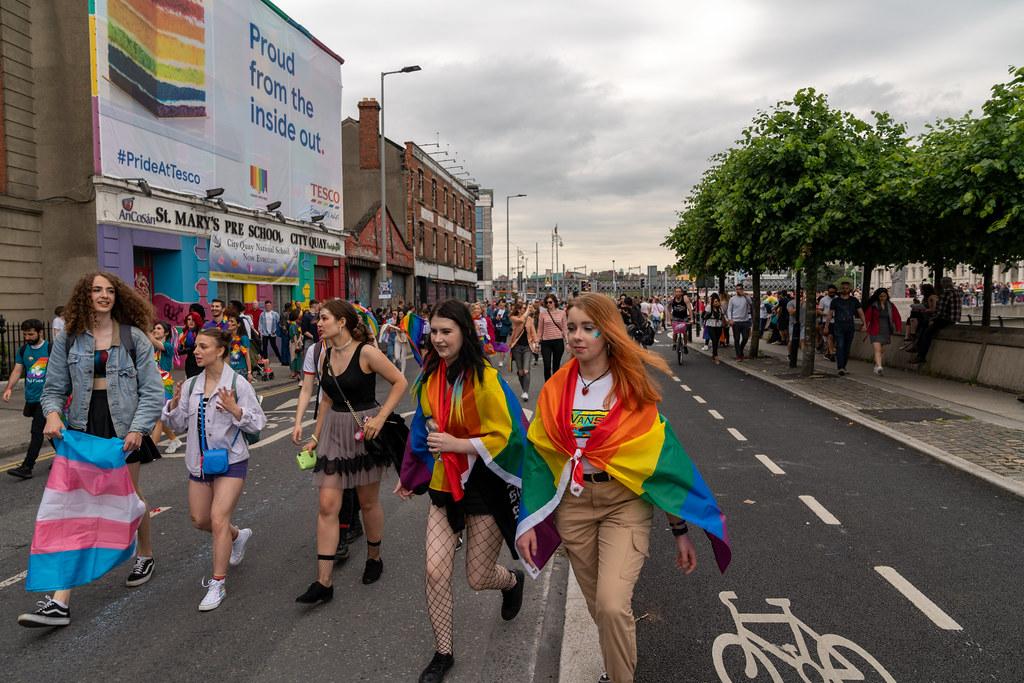 DUBLIN LGBTQ PRIDE PARADE 2019 [NEAR MOSS STREET - TALBOT BRIDGE]-153814