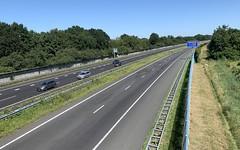 A28 fietsbrug Zeepad Harderwijk-7 (European Roads) Tags: a28 fietsbrug zeepad harderwijk netherlands gelderland