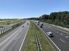 A28 fietsbrug Zeepad Harderwijk-3 (European Roads) Tags: a28 fietsbrug zeepad harderwijk netherlands gelderland
