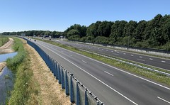 A28 fietsbrug Zeepad Harderwijk-2 (European Roads) Tags: a28 fietsbrug zeepad harderwijk netherlands gelderland