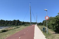 A28 fietsbrug Zeepad Harderwijk-1 (European Roads) Tags: a28 fietsbrug zeepad harderwijk netherlands gelderland