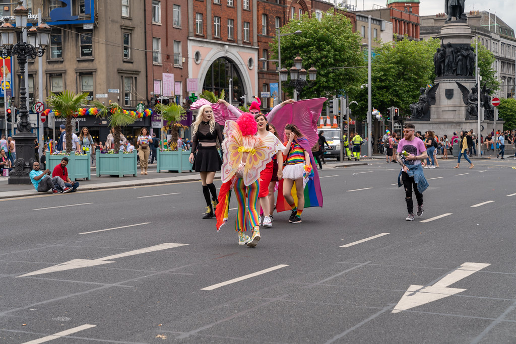 DUBLIN LGBTQ PRIDE PARADE 2019 [NEAR MOSS STREET - TALBOT BRIDGE]-153940