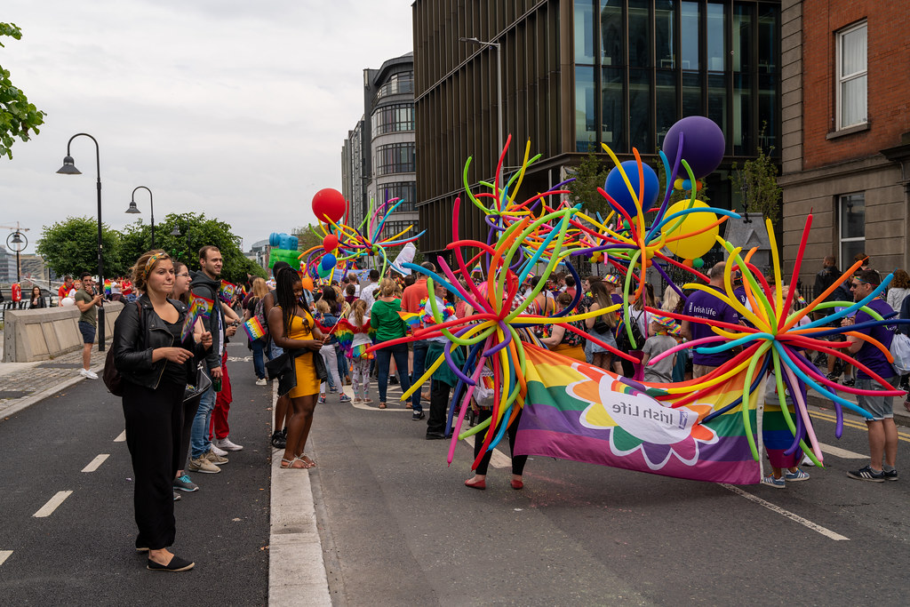 DUBLIN LGBTQ PRIDE PARADE 2019 [NEAR MOSS STREET - TALBOT BRIDGE]-153926