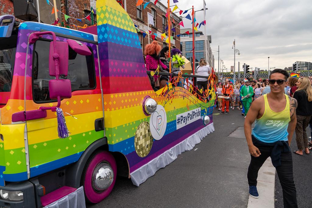DUBLIN LGBTQ PRIDE PARADE 2019 [NEAR MOSS STREET - TALBOT BRIDGE]-153923