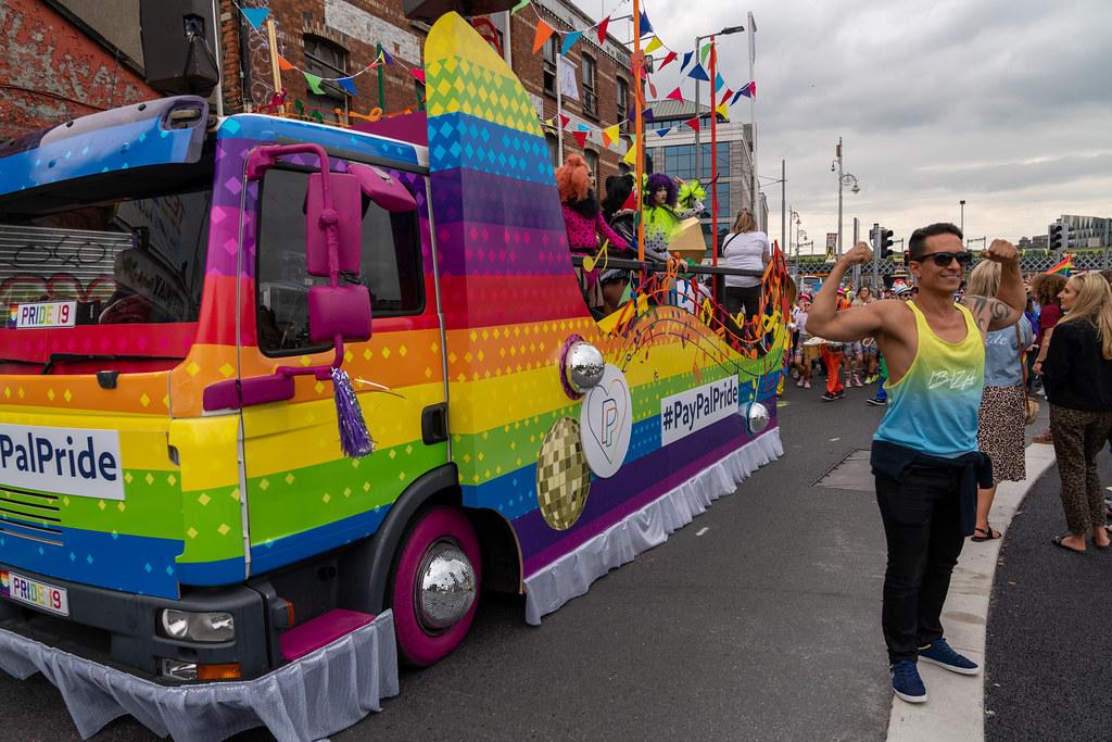 DUBLIN LGBTQ PRIDE PARADE 2019 [NEAR MOSS STREET - TALBOT BRIDGE]-153922