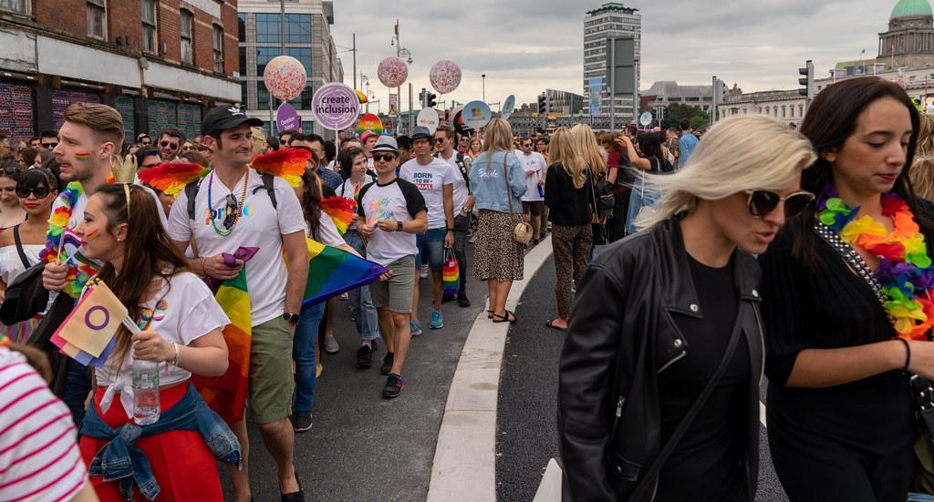 DUBLIN LGBTQ PRIDE PARADE 2019 [NEAR MOSS STREET - TALBOT BRIDGE]-153916