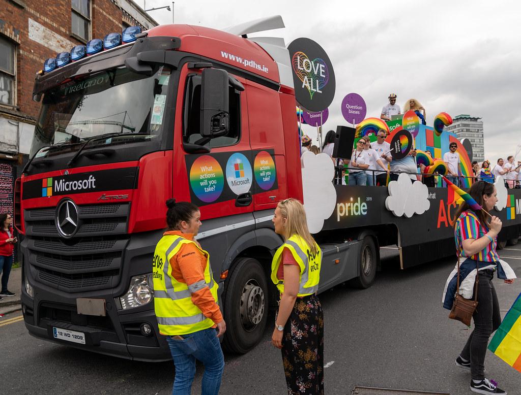 DUBLIN LGBTQ PRIDE PARADE 2019 [NEAR MOSS STREET - TALBOT BRIDGE]-153909
