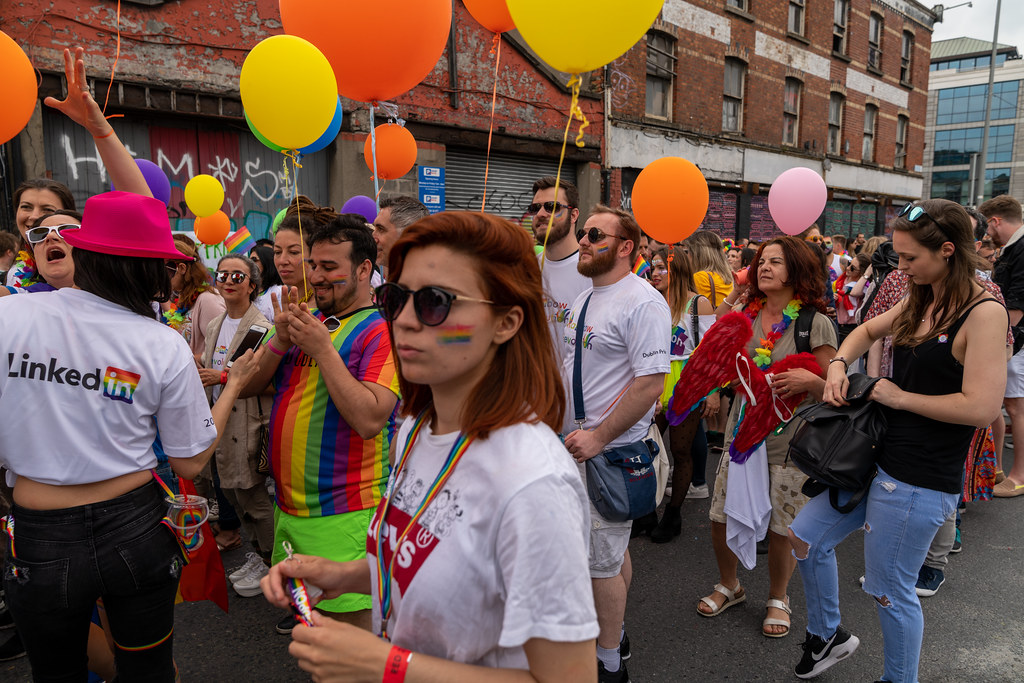 DUBLIN LGBTQ PRIDE PARADE 2019 [NEAR MOSS STREET - TALBOT BRIDGE]-153904