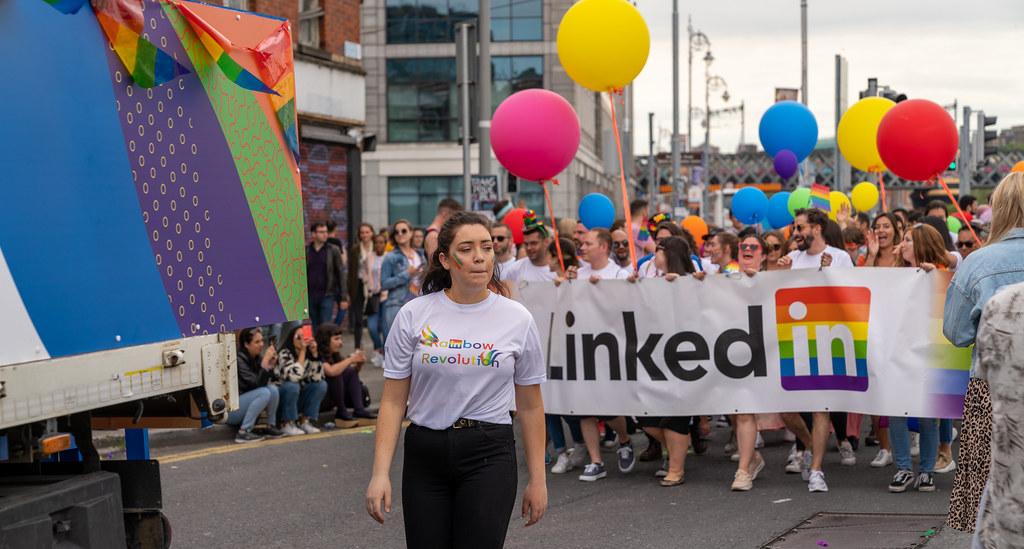 DUBLIN LGBTQ PRIDE PARADE 2019 [NEAR MOSS STREET - TALBOT BRIDGE]-153899