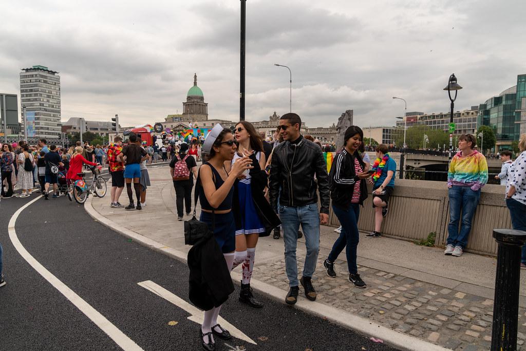 DUBLIN LGBTQ PRIDE PARADE 2019 [NEAR MOSS STREET - TALBOT BRIDGE]-153896