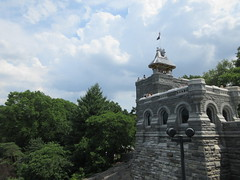 2019 Belvedere Castle Above the Turtle Pond NYC 3475 (Brechtbug) Tags: 2019 above park west castle st by pond theater turtle near jacob gothic central victorian medieval used keep styles belvedere perched mould hybrid architects romanesque folly closest calvert designed 79th delacorte 1869 vaux wrey new york city nyc summer tower weather june stone post manhattan patterns hill ruin rocky mini palace lookout craggy romantic renovation measure turret bluff reopened 062919