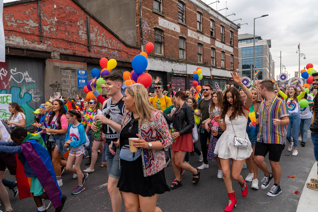 DUBLIN LGBTQ PRIDE PARADE 2019 [NEAR MOSS STREET - TALBOT BRIDGE]-153887