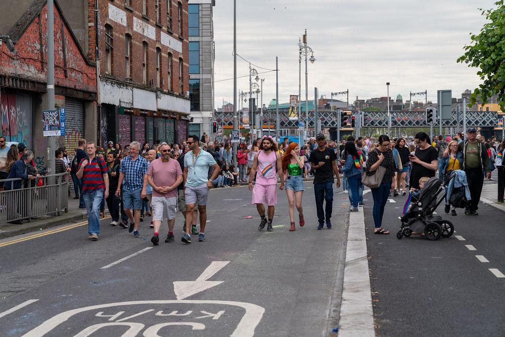 DUBLIN LGBTQ PRIDE PARADE 2019 [NEAR MOSS STREET - TALBOT BRIDGE]-153870