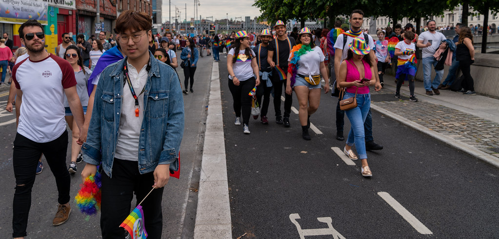 DUBLIN LGBTQ PRIDE PARADE 2019 [NEAR MOSS STREET - TALBOT BRIDGE]-153867