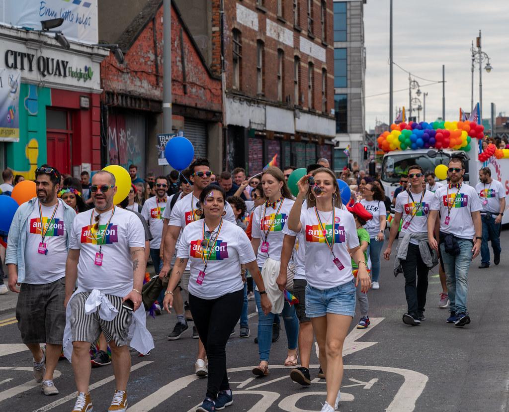 DUBLIN LGBTQ PRIDE PARADE 2019 [NEAR MOSS STREET - TALBOT BRIDGE]-153864
