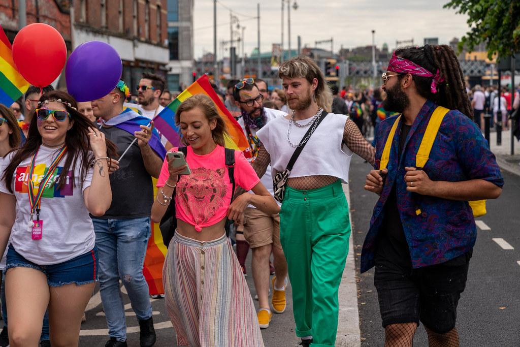 DUBLIN LGBTQ PRIDE PARADE 2019 [NEAR MOSS STREET - TALBOT BRIDGE]-153855