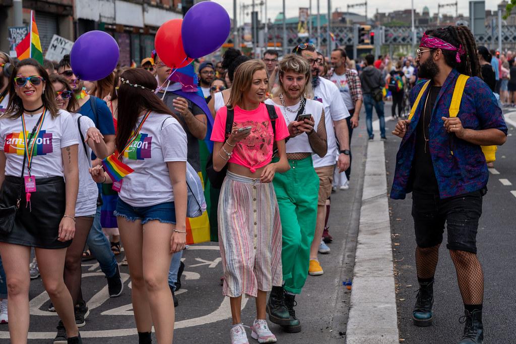 DUBLIN LGBTQ PRIDE PARADE 2019 [NEAR MOSS STREET - TALBOT BRIDGE]-153854