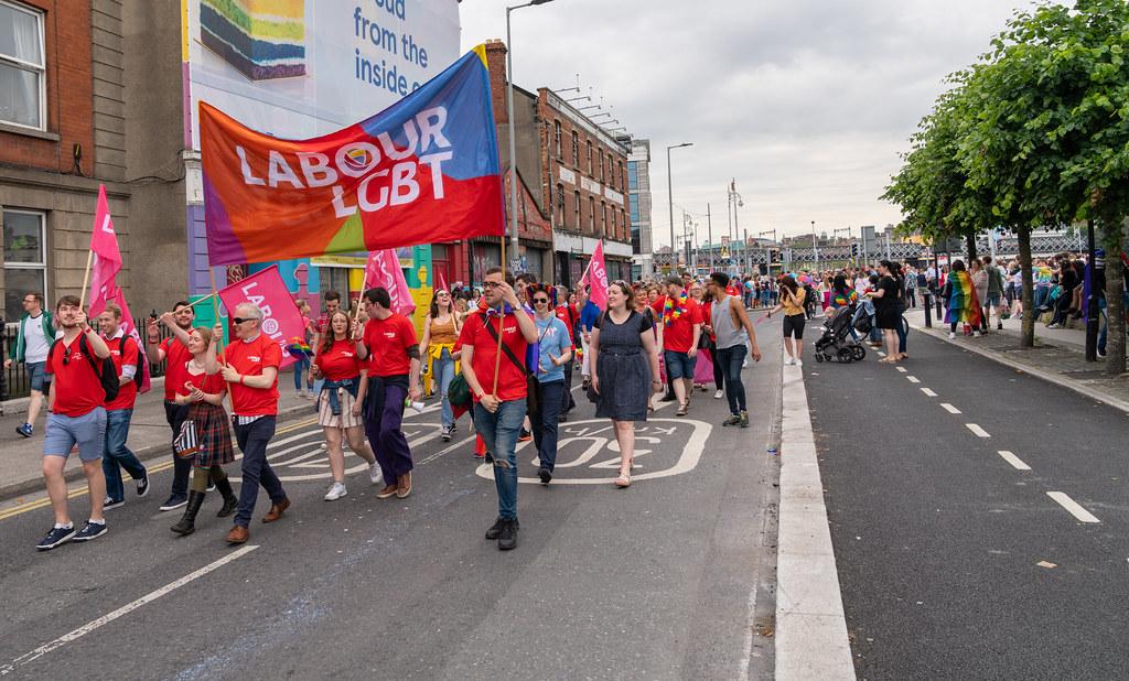 DUBLIN LGBTQ PRIDE PARADE 2019 [NEAR MOSS STREET - TALBOT BRIDGE]-153840