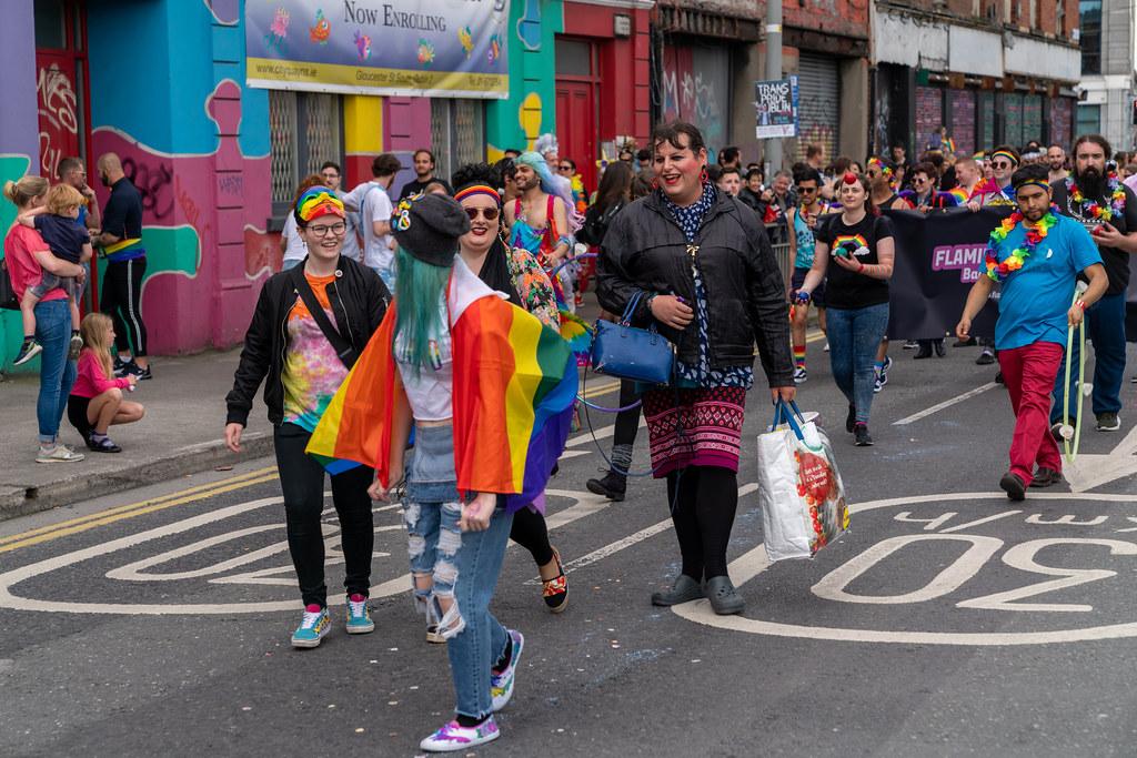 DUBLIN LGBTQ PRIDE PARADE 2019 [NEAR MOSS STREET - TALBOT BRIDGE]-153799