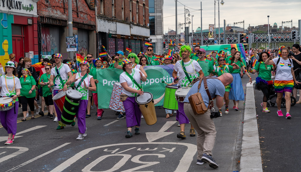 DUBLIN LGBTQ PRIDE PARADE 2019 [NEAR MOSS STREET - TALBOT BRIDGE]-153794