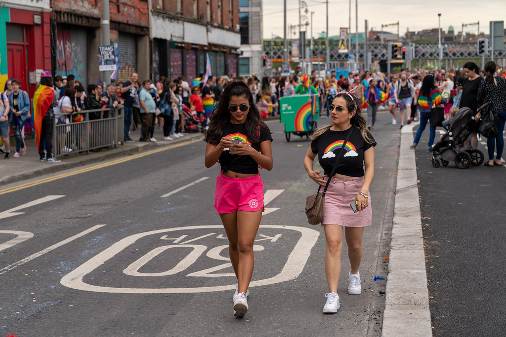 DUBLIN LGBTQ PRIDE PARADE 2019 [NEAR MOSS STREET - TALBOT BRIDGE]-153791
