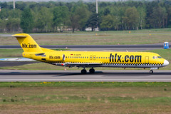 D-AGPN (PlanePixNase) Tags: eddt tegel txl berlin airport aircraft planespotting hlx hapaglloyd express fokker 100 f100