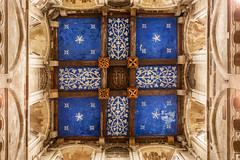 Wimborne Minster ceiling (20190610) (Graham Dash) Tags: wimborneminster architecture ceilingart ceilings churches minsters