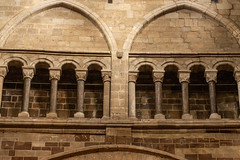 Wimborne Minster walkway (20190610) (Graham Dash) Tags: wimborneminster architecture churches minsters