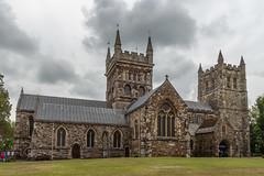 Wimborne Minster (20190610) (Graham Dash) Tags: wimborneminster architecture churches minsters 2019pad