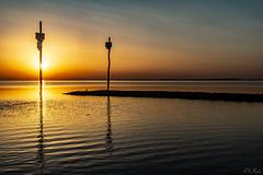 Oesterdam (Omroep Zeeland) Tags: oesterdam zonsondergang oosterschelde zomer hittegolf zomerse dag tropische temperaturen onderwaterrif oesterbank
