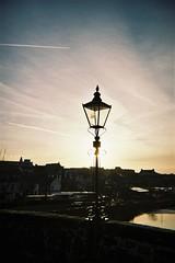 Morning Lamp (bigalid) Tags: film 35mm march 2019 fs30 leclic kodak colorplus db 200iso dumfries c41 devorgilla river nith lamp