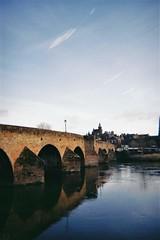 Bridge I (bigalid) Tags: film 35mm march 2019 fs30 leclic kodak colorplus db 200iso dumfries c41 devorgilla river nith