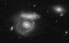 AM 0403-555 (geckzilla) Tags: interacting overlapper spiral disk galaxies merging tidal interaction hst hubble prop15446 15446
