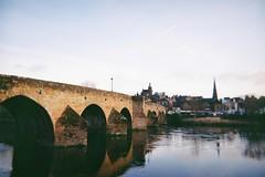 Bridge II (bigalid) Tags: film 35mm march 2019 fs30 leclic kodak colorplus db 200iso dumfries c41 devorgilla river nith