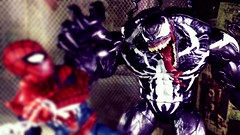 Get away (custombase) Tags: marvel marvellegends figures monster venom vs spiderman gamerverse diorama toyphotography
