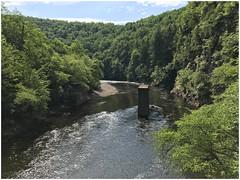 Lehigh River (Markus Alydruk) Tags: lehighriver lehighgorgestatepark lehighgorge pennsylvania usa america weatherly pa luzernecounty forest woods river gorge ruins