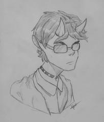 DbleL (Ephraim Fowler) Tags: ephraimfowler dblel commission drawing art paper pencil