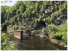 Lehigh River (Markus Alydruk) Tags: lehighgorgestatepark lehighriver gorge river pa pennsylvania luzernecounty weatherly usa america ruins tunnel mountain industrial glenonoko