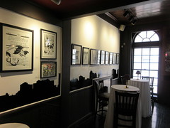 80 Years of Batman - Society of Illustrators Second Floor Cafe / Bar 3423 (Brechtbug) Tags: 80 years batman show society illustrators building east 63rd street near lexington avenue 06292019 museum comic cartoon art new york city june 2019 strip comicbook illustration exhibitions exhibition museums galleries pop popular culture pulp fiction comics sunday funnies comix location interior mocca fest hall halls soi bat manga jiro kuwata s japanese version originals collected by chip kidd american graphic designer and others