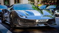 2019 Ferrari 488 Pista (iesphotography) Tags: 2019 ferrari488pista supercar pista ferrari sportscar luxury millionaire car auto money rich awesome supercarslondon londoncars londonsupercars automobile dorchester parklane kensington horsepower sol
