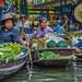 Floating Market at Damnoen Saduak