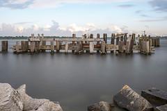 The Docks (Kevin Tataryn) Tags: nikon d500 1755 long exposure docks old wharf abandoned prescott ontario canada park river stlawrence