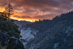 Where the Color Is (Kirk Lougheed) Tags: california tunnelview usa unitedstates yosemite yosemitenationalpark yosemitevalley landscape nationalpark outdoor park spring sunset