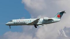 Air Canada Express CRJ-200 (C-GUJA)-2.jpg (Vince Amato Photography) Tags: cguja bombardier trudeauinternationalairport aircanadaexpress commercialairliner crj200 cr2 crj2 cyul canada ggn jza kv montreal qk quebec skv yul zx