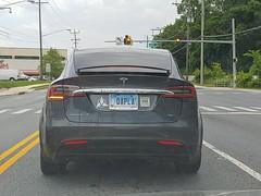 Qapla Plate (dcnerd) Tags: plate vanity vanityplate car vehicle vehicleplate carplate licenseplate startrekplate klingonvanityplate qapla automobile tesla