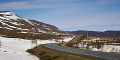 Bonnie Bay Road (Valley Imagery) Tags: gros morne bonnie bay snow spring mountains road isolated sony a99ii 70400gii