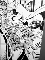 80 Years of Batman at Society of Illustrators Batman Sundays 3243A (Brechtbug) Tags: 80 years batman show society illustrators building east 63rd street near lexington avenue 06292019 museum comic cartoon art new york city june 2019 strip comicbook illustration exhibitions exhibition museums galleries pop popular culture pulp fiction comics sunday funnies comix location interior mocca fest hall halls soi bat manga jiro kuwata s japanese version originals collected by chip kidd american graphic designer and others