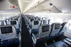 2019_06_15 Delta CSeries-38 (jplphoto2) Tags: a220 a220100 bsc100 bombardier bombardiercseries cs100 cseries deltaairlines deltaairlinesa220100 deltaairlinescseries jdlmultimedia jeremydwyerlindgren aircraft airline airplane airport aviation